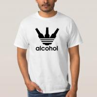 Divat póló - Alcohol