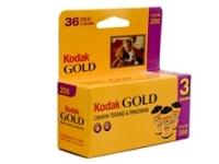 Kodak Gold 200 GB 135/36 2+1 fotófilm
