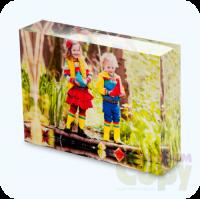 Fényképes fotókristály - 8x6 cm