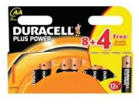 Duracell Plus Power 8+4 ceruza elem